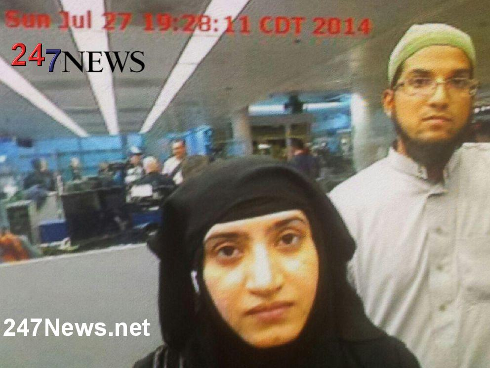 Chicago Airport Photo Sayed Farook Tashfeen Malik