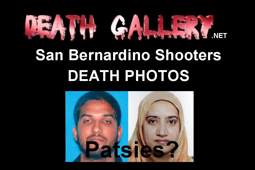San Bernardino shooters death photos