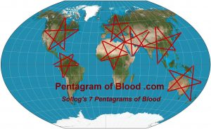 7 Pentagram's Of Blood