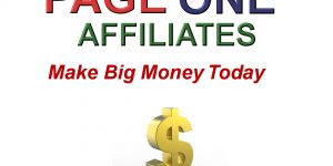 Page One Affiliate Program