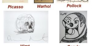 Famous Artist Drawings